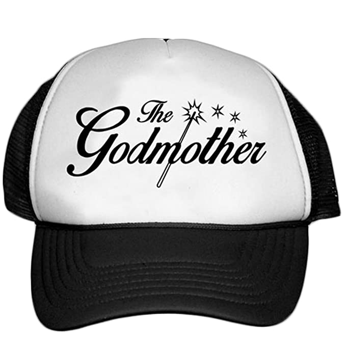 4faafbbb94e Express Design Group The Godmother Trucker Hat White Black at Amazon ...