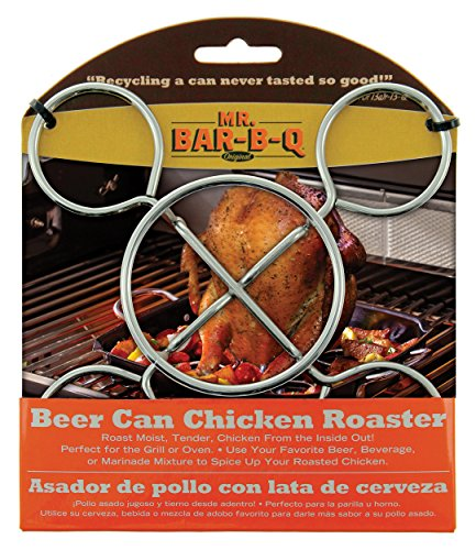 - MR BAR-B-Q BEER CAN CHICKEN ROASTER BARBECUE BBQ
