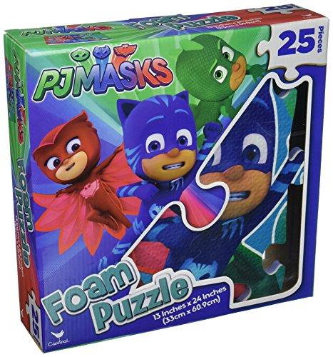 Cardinal PJ Masks Foam Puzzle Mat 25 Pieces