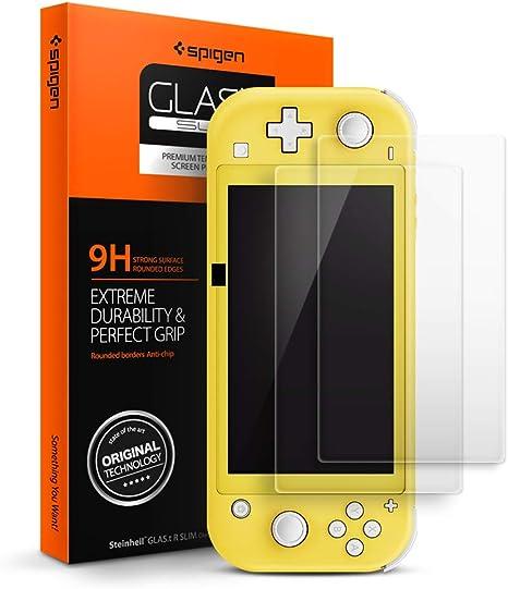 Spigen, 2 Pack, Protector Pantalla Nintendo Switch Lite, Glas. tR ...