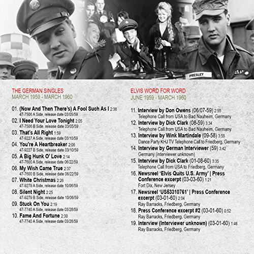 Elvis Presley Army Days Revisited Part 2 (The Bootleg Series