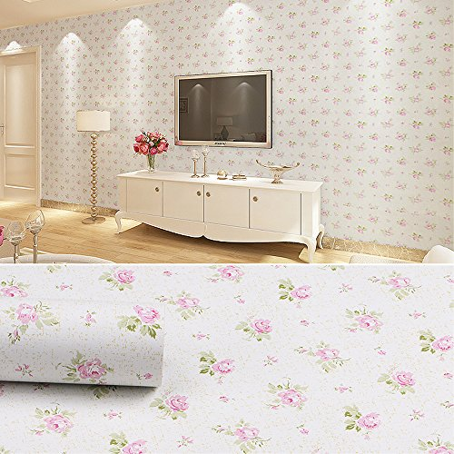 Shelf Paper For Kitchen Cabinets: SimpleLife4U Pink Rose Contact Paper Removable Shelf Liner