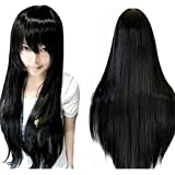 "Anogol Vocaloid 32"" 80cm Long Straight Cosplay Wig Party Wigs for Halloween"