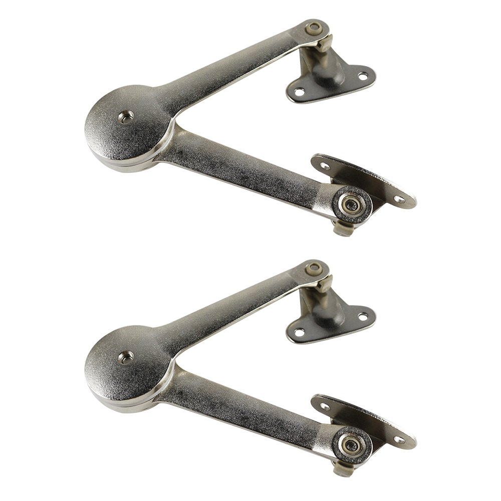 Lid Support Hinge Lid Stay with Soft Close Toy Box Hinge Support Drop Lids of Cabinets Support 40lb/2pcs