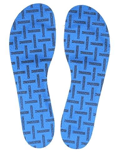 3b78f17abee9 Birkenstock Fussbettlangsohle Birko Tex Comfort Insole, Blue (Blau), 3.5 UK