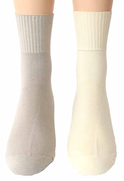Shimasocks hombre Calcetines Sin Goma 2 pares 98% Algodón: Amazon.es: Ropa y accesorios