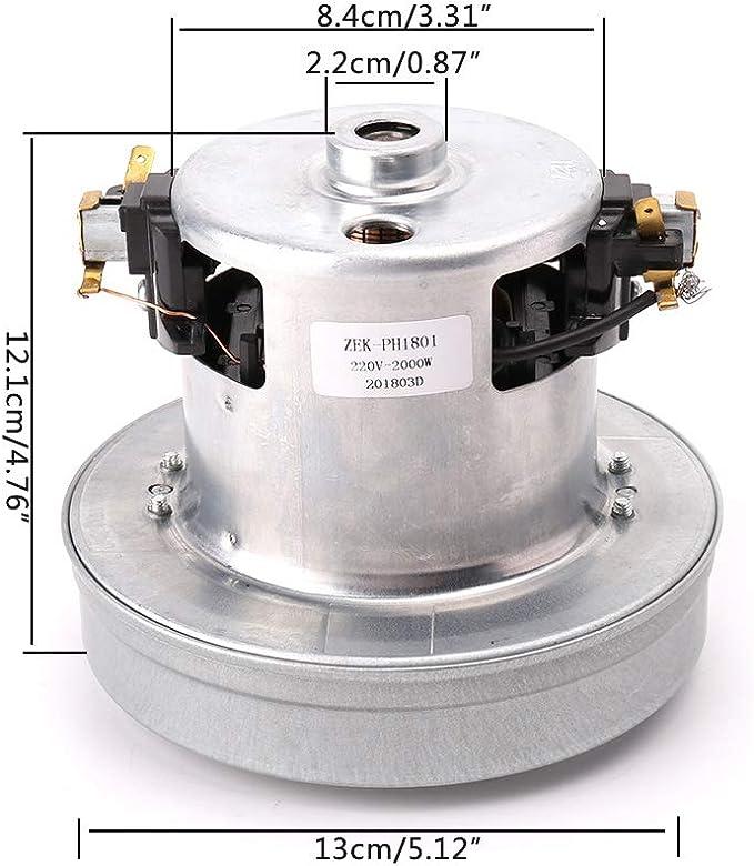 siwetg Universal PY-29 - Motor para aspiradora (220 V, 2000 W ...