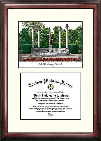 Amazon.com : Ball State University Mahogany Diploma Frame ...