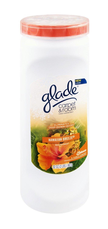 Glade Hawaiian Breeze Carpet & Room Odor Eliminator Set of 3