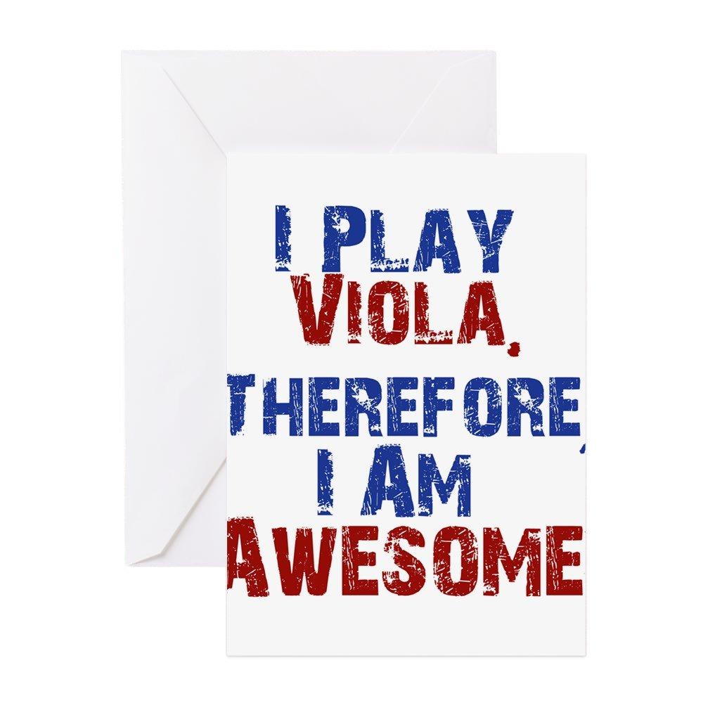 CafePress - Me Play Viola tarjetas de felicitación - Tarjeta ...