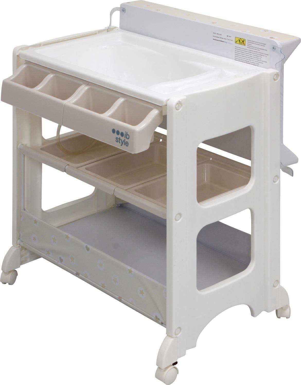 Matelas Commode B/éb/é Meuble Mod/èleAstronaut IB-Style 11 d/écors diff/érents Table /à langer avec baignoire/à roullettes