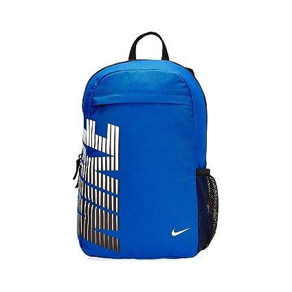 Nike Classic Sand Backpack (Blue White Black)  Amazon.in  Sports ... e8649c5ed6ce5