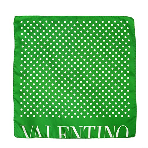 Valentino 100% Silk Multi-Color Polka Dot Women's Shawl - Polka Colored Multi Scarf Dot