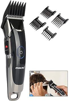 Afeitadora eléctrica para el cabello, recortadora de barba de cara ...
