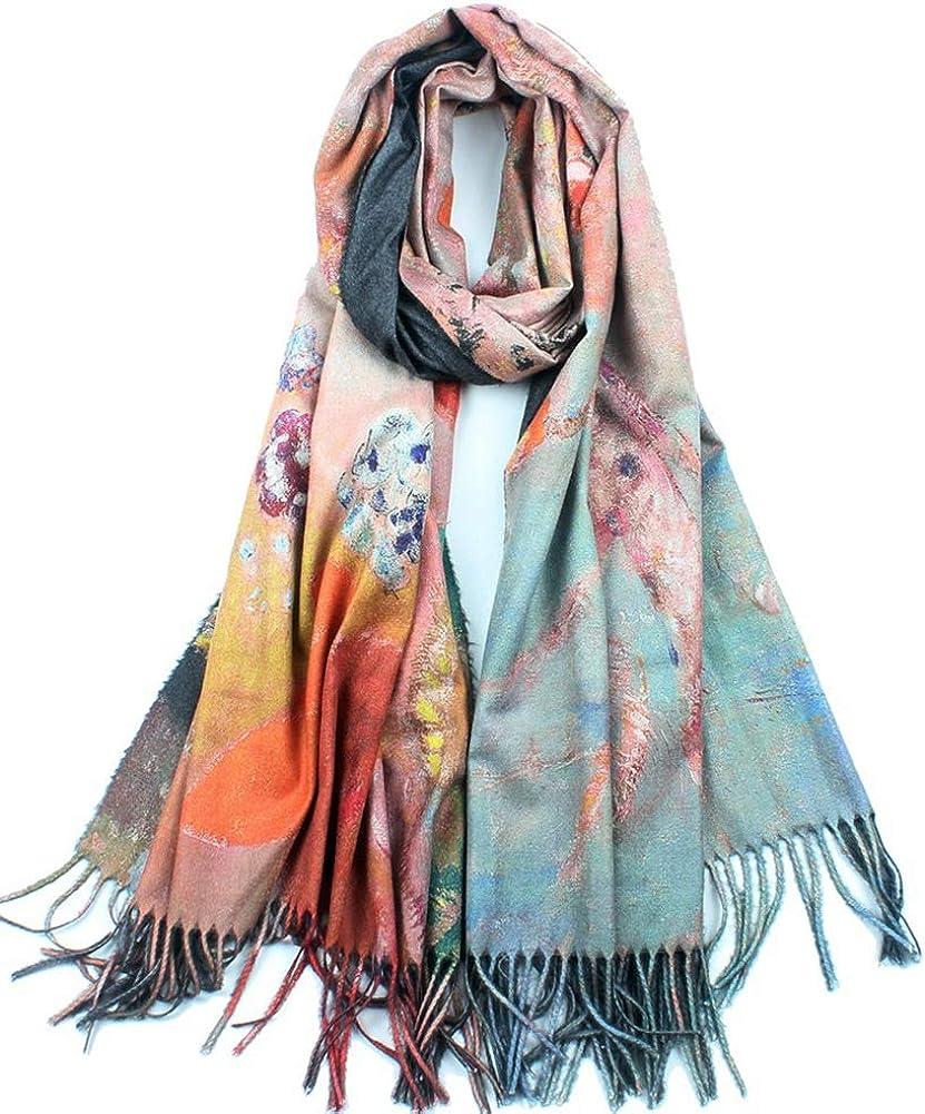 Women Soft Cashmere Wool...