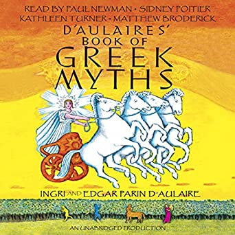 d aulaires book of greek myths audiobook