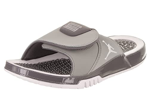 ba7463a73ddfc Chanclas Jordan - Hydro XI Retro Gris Blanco Carbón Talla  44  Amazon.es   Zapatos y complementos