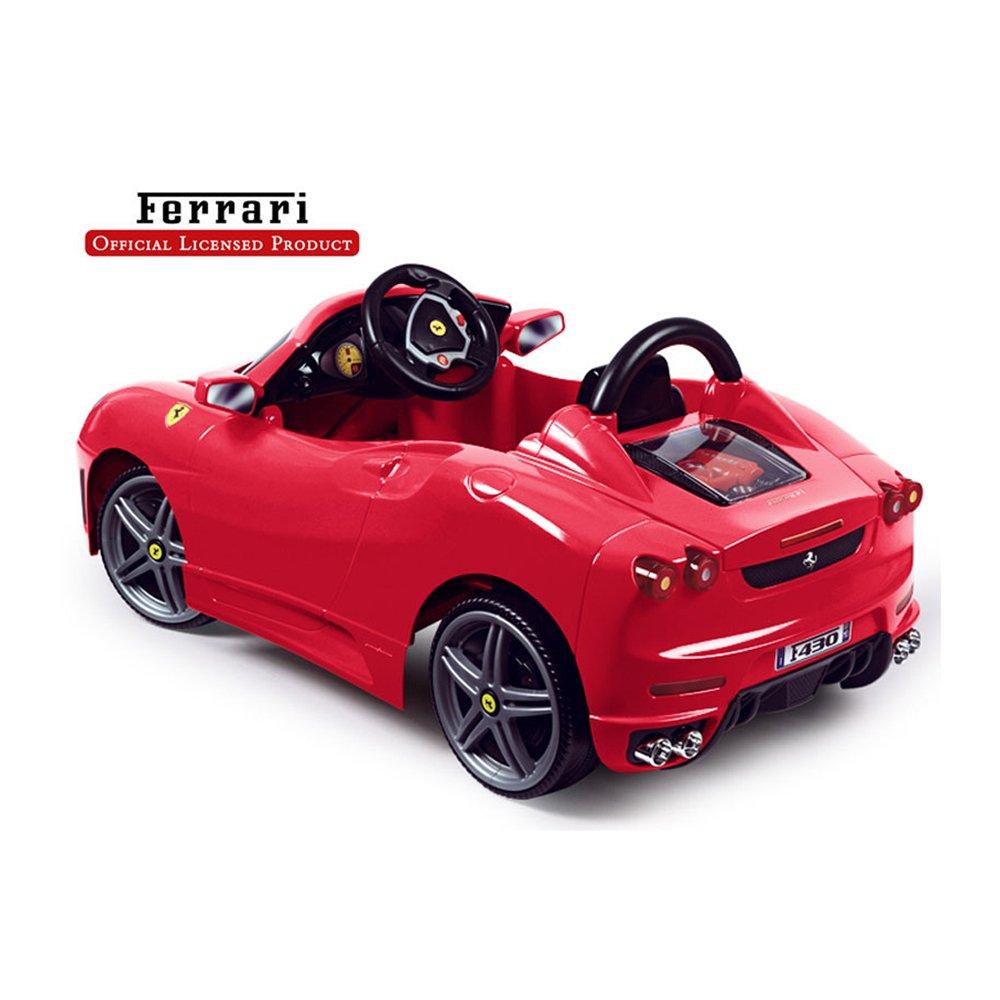 Amazon.com: FEBER Ferrari F430 6 V coche en color rojo: Toys ...