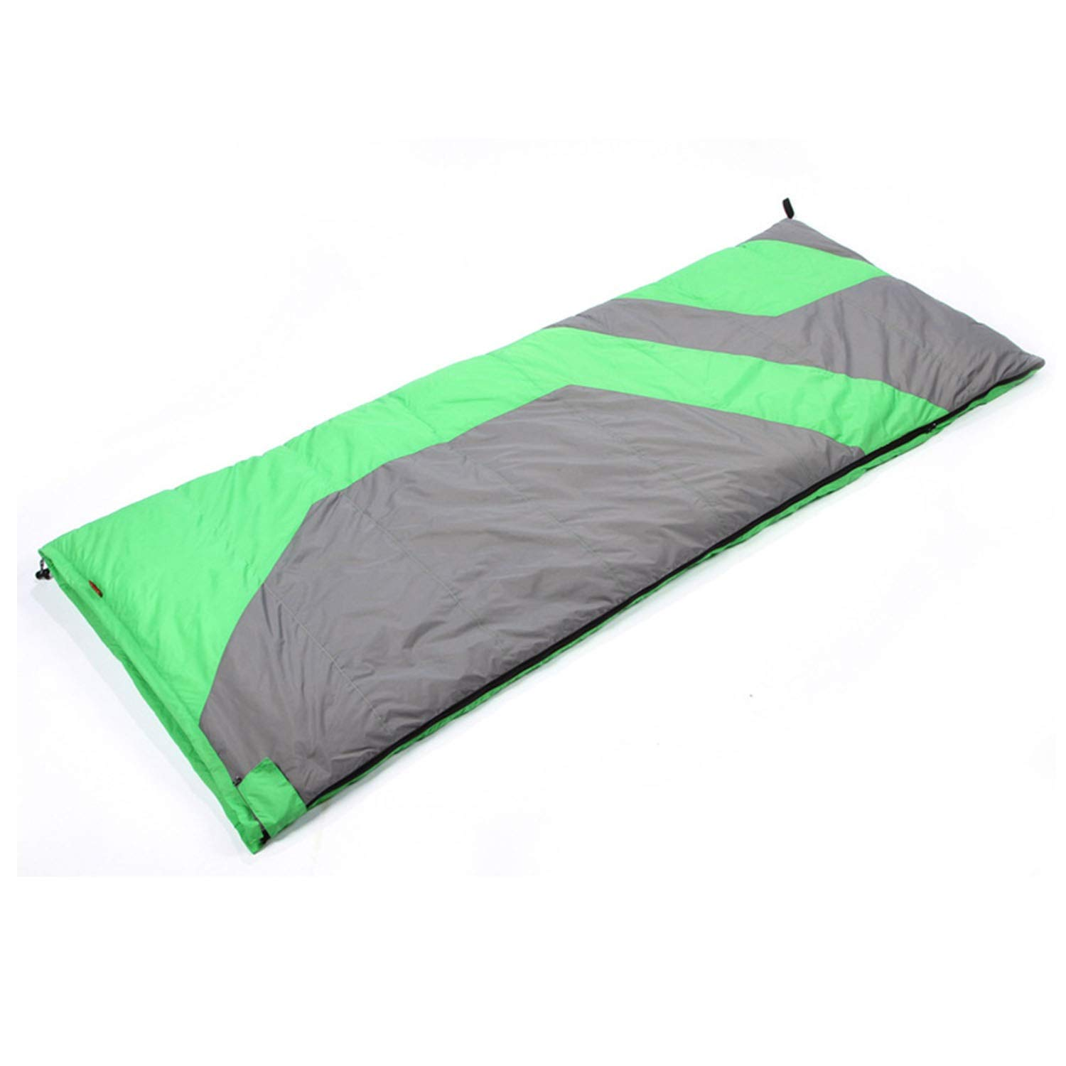 YOZOOE Portable Camping Supplies-Outdoor Light Down Sleeping Bag, -25 Degree Autumn and Winter Double Envelope Sleeping Bag (Color : Green) by YOZOOE