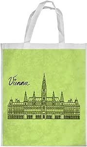 Landmarks - Vienna Printed Shopping bag, Medium Size
