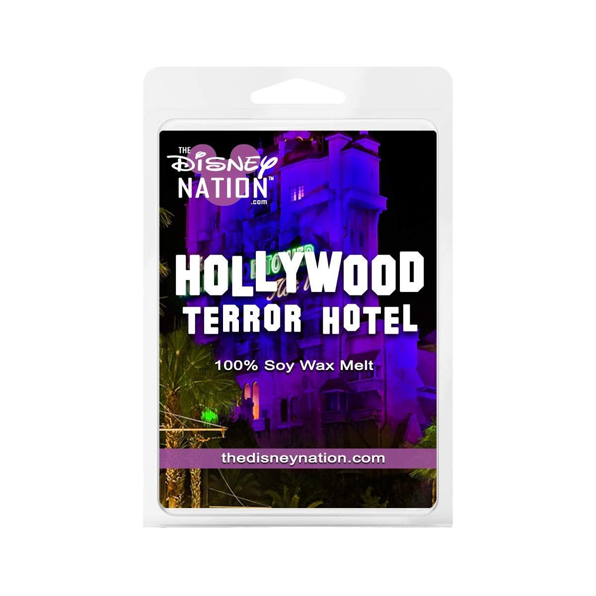 Hollywood Terror Hotel 2 PACK Disney Scented 100/% Soy Wax Melts
