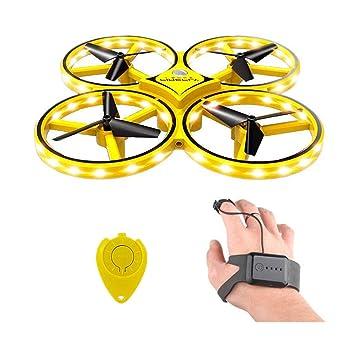 RC Quadcopter drone para niños, reloj de mano Sensor de gravedad ...