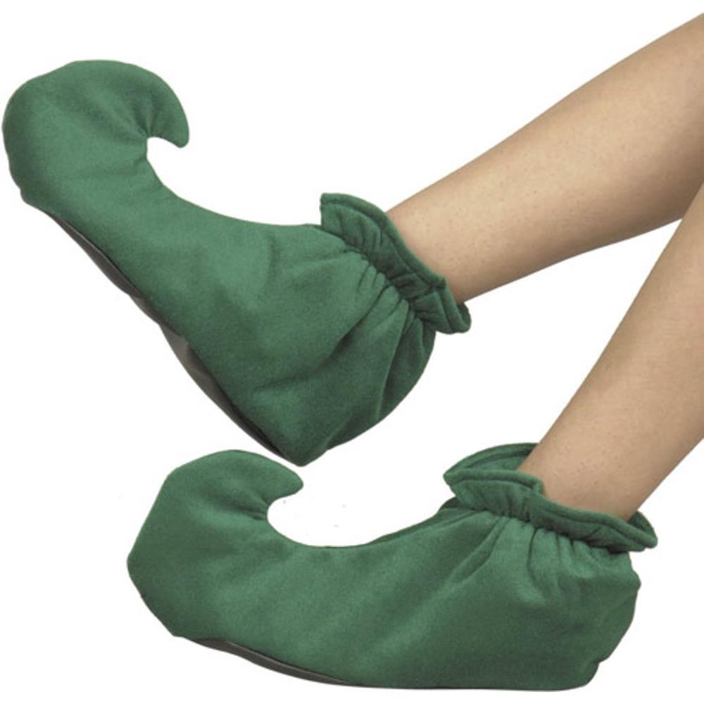Amazon.com: Zapatos de duende de la Navidad Disfraz Adulto ...