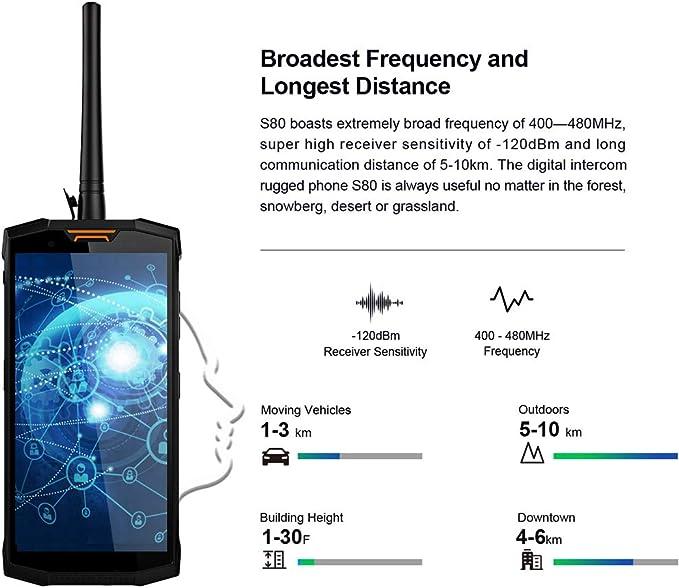 Doogee S80 - Outdoor Smartphone con batería 10080 mAh, IP68/ip69 K ...