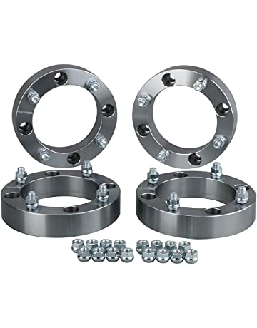 """Aluminum ADAPTER SPACER 4//110 to 4//110 1.00/"""" Thick for atv or mini truck 10x1.25"""