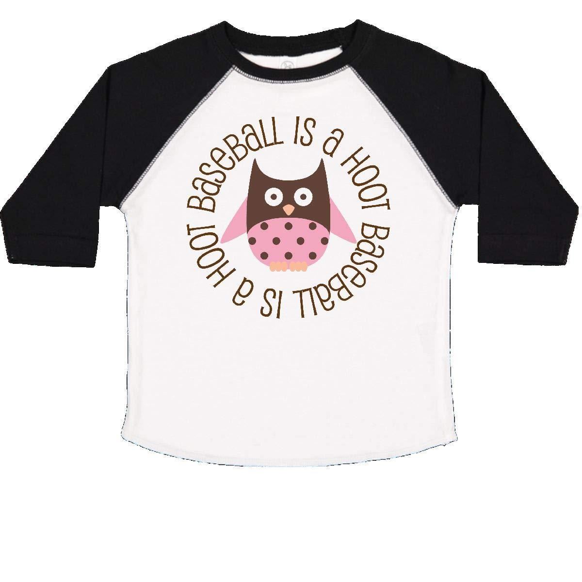 inktastic Baseball is a Hoot Sports Toddler T-Shirt