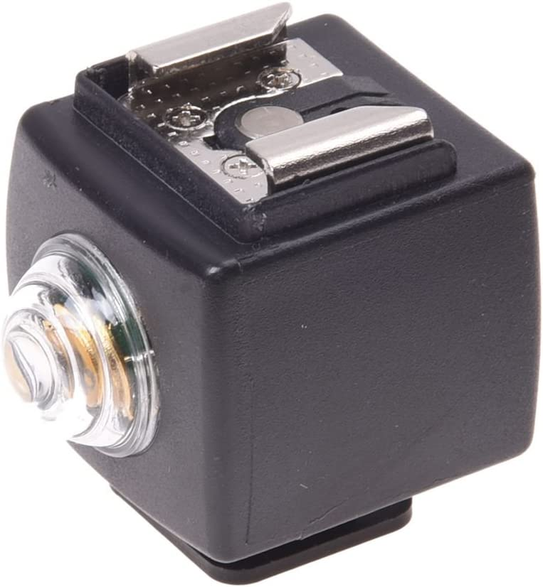 SODIAL(R) Disparador esclavo remoto de lua flash zapato caliente inalambrico para Nikon Pentax Canon SYK-3