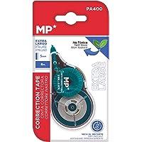 MP, Cinta Correctora Extra Larga, 8 Metros, Secado Rápido y Comodidad de Uso (PA400)