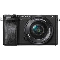 Sony Alpha a6300 with 16-50mm Lens, Mirrorless Digital Camera, Black
