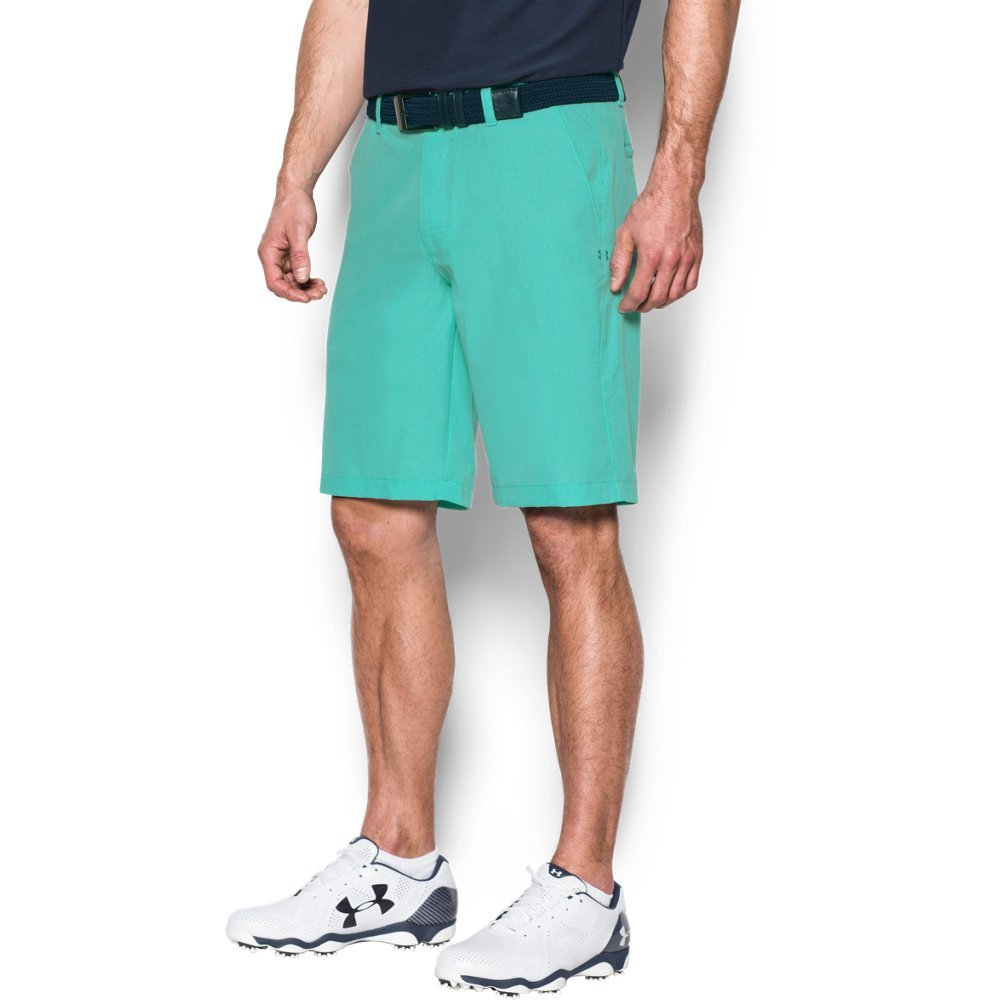 Under Armour Men's Match Play Vented Shorts, Mint (343)/Mint, 30