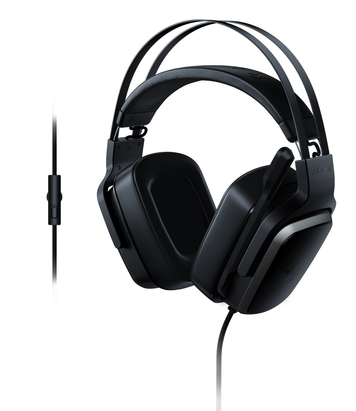 Razer Tiamat 2.2 V2: Dual Subwoofers - in-Line Audio Control - Rotatable Boom Mic - Gaming Headset Works with PC, PS4, Xbox One, Switch, Mobile Devices