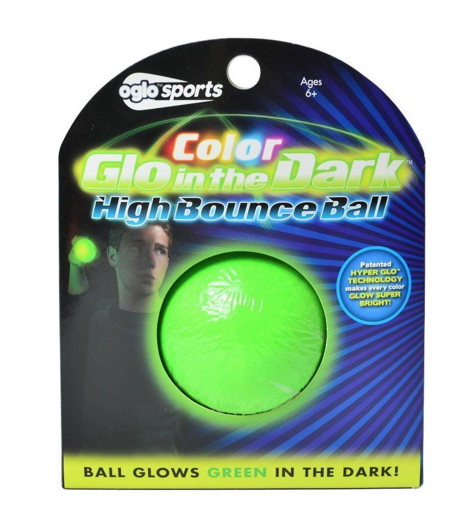 Nightzone light up rebound ball - Amazon Com Oglo Sports Glow In The Dark 2 25 High Bounce Ball Green Toys Games