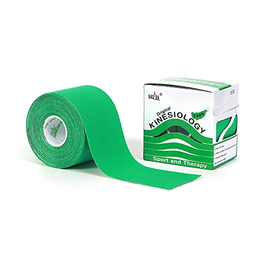 181 opinioni per Nasara Kinesiology Tape 5 cm x 5 m verde nastro