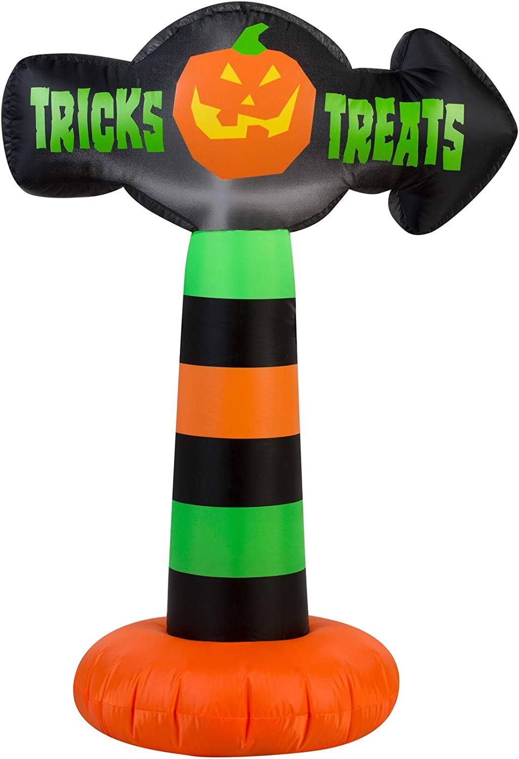 Amazon.com: Halloween inflable 3,5 Colorful truco o trato ...