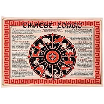 Amazon.com: Chinese Zodiac Paper Placemats 50 Pieces (PP