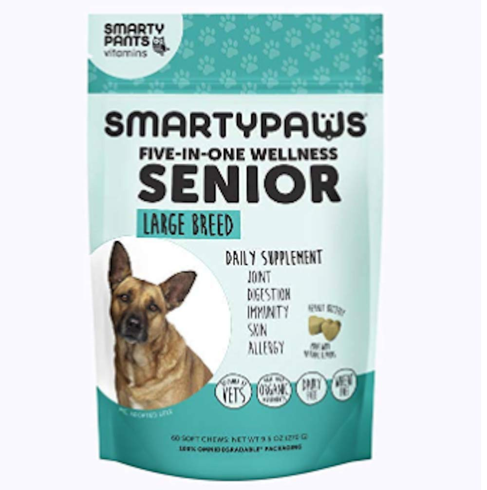 Dog Supplement Chew- Senior Large by SmartyPants