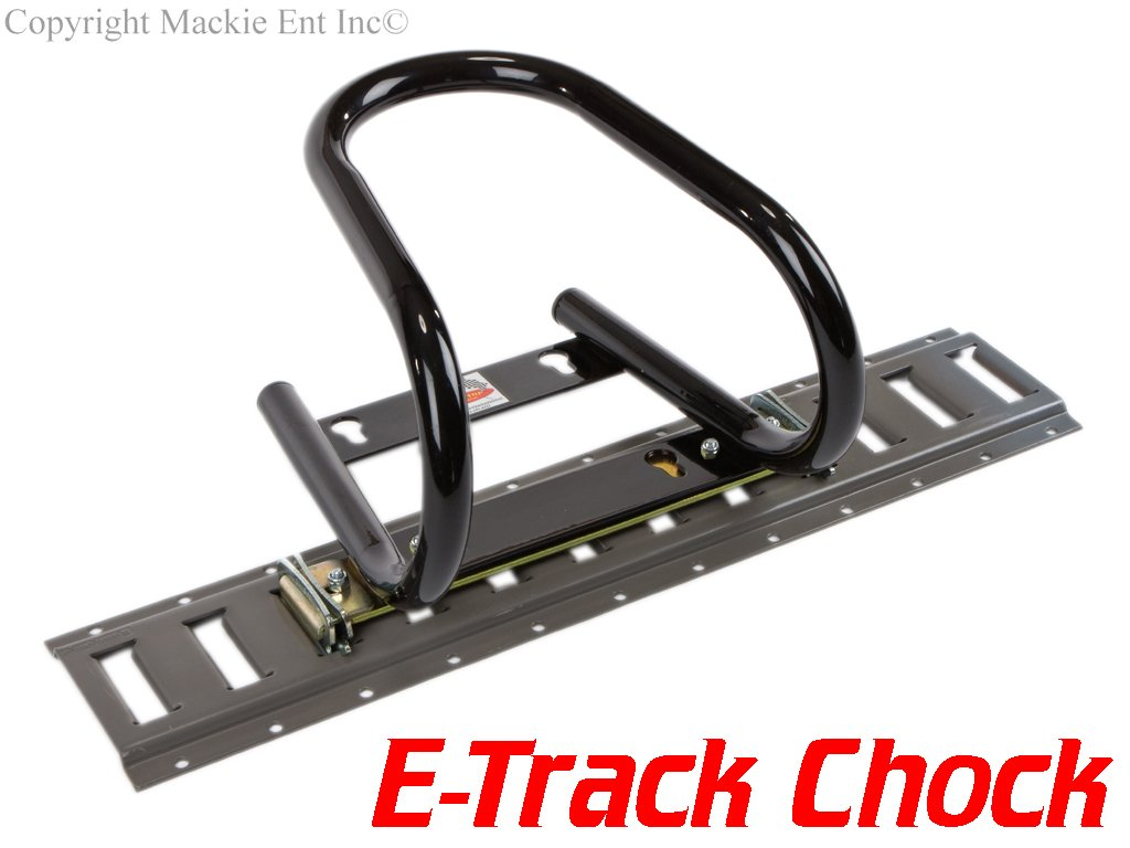 Marson USA 5.5'' Motorcycle Wheel Chocks T200-ETRACK - B