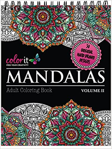 the worlds best mandala coloring book volume 2 a stress management coloring book for adults