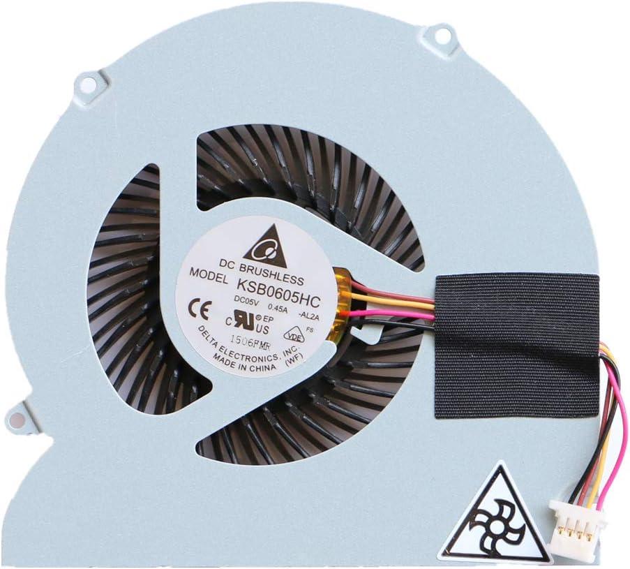 FCQLR Nuevo KSB0605HC-AL2A CPU Ventilador para Acer Aspire 5830 5830T 5830TG CPU enfriamiento Ventilador