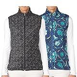 #9: adidas Golf Womens Climawarm Printed fleece Vest