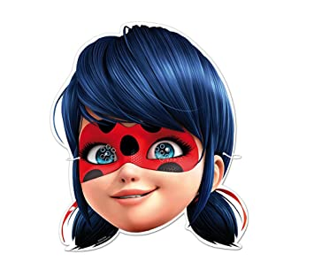 Miraculous Masque Anniversaire Ladybug 6 Pieces Amazon Co Uk Baby