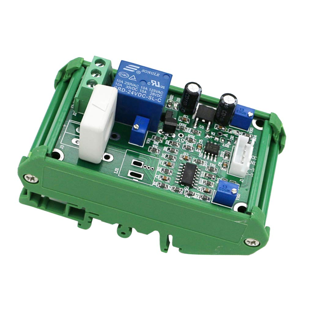 MagiDeal WCS1800 Hall Current Detection Sensor Module DC 0-35A Output, Working Voltage 24V with Base