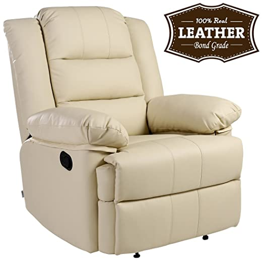 LOXLEY LEATHER RECLINER ARMCHAIR SOFA HOME LOUNGE CHAIR RECLINING GAMING (Cream)  sc 1 st  Amazon UK & LOXLEY LEATHER RECLINER ARMCHAIR SOFA HOME LOUNGE CHAIR RECLINING ... islam-shia.org