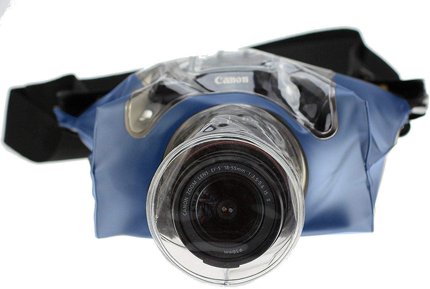 Navitech Transparent/DSLR SLR Waterproof Underwater Housing Case//Cover Pouch Dry Bag Compatible with The/Kodak PIXPRO AZ422