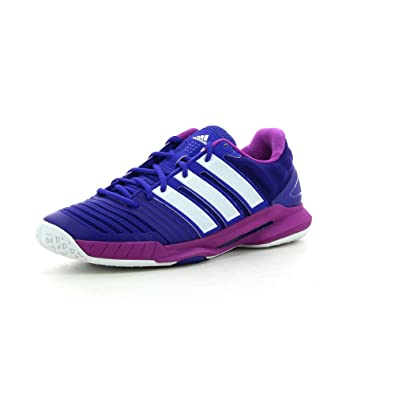 sports shoes c10cc abefa adidas Adipower Stabil 11 Womens Court Shoes – SS15 multicoloured Size12.5