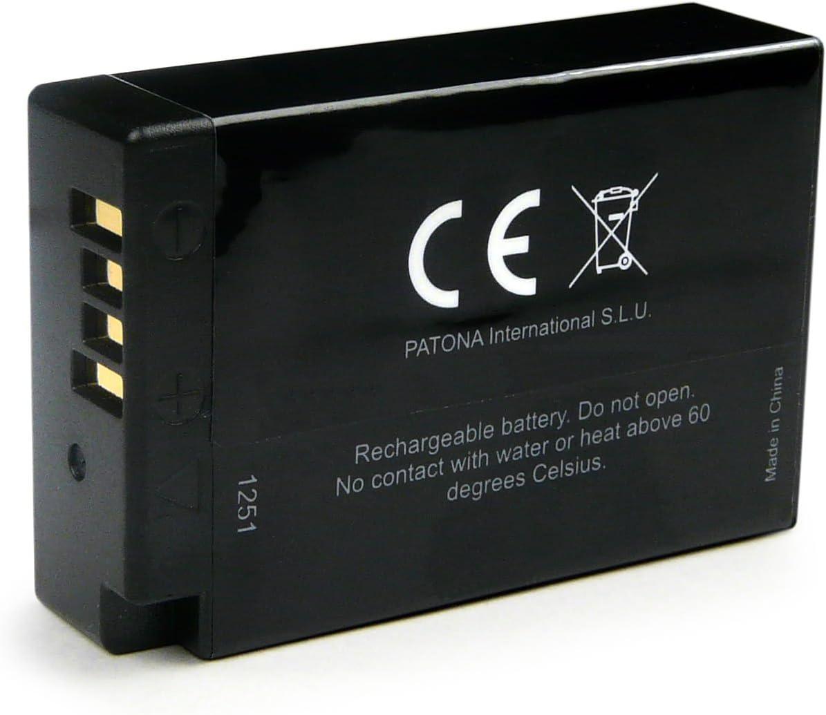 PATONA 4en1 Chargeur 2x Premium Batterie LP-E17 compatible avec Canon EOS 750D 760D 8000D Kiss X8i Rebel T6s T6i